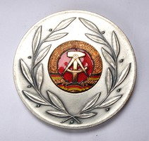 25 éves az NDK, jubileumi emlékérem 1974.