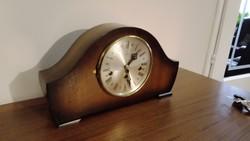 Betima 6 day német  negyedütős , zenélő kandalló óra, asztali óra