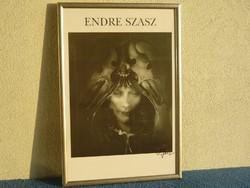 Szász Endre nyomat keretezve eladó. A kép mérete:35,5 X 51 cm.