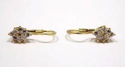 Köves arany fülbevaló (ZAL-Au86175)