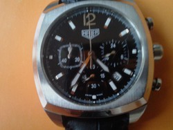 Heuer chronograph  quartz ferfi karora