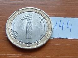 BULGÁRIA 1 LEVA LEV 2002 144.