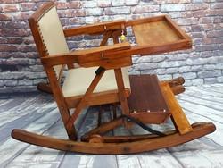 Gyermek etető szék több funkciós  felújítva eladó