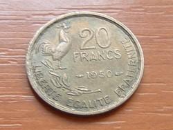 FRANCIA 20 FRANCS FRANK 1950 KAKAS G. GUIRAUD #