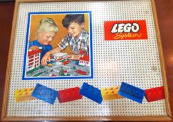 Lego System fa dobozban