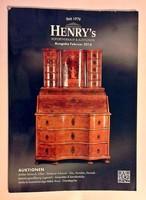 Antik tárgyak aukciós katalógus 2016 január Henry s