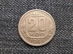 Szovjetunió (1922-1991) 20 Kopek 1943 / id 15906/