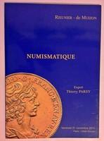 Numizmatika katalógus  2014