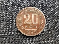 Szovjetunió (1922-1991) 20 Kopek 1939 / id 15907/