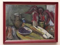 Bojtor Károly képcsarnokos festménye