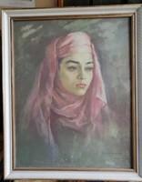 Breznay József: női portré
