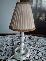 Herendi bécsi rózsás asztali lámpa, kiváló jelzéssel a Monarhiából!
