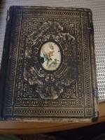 Régi családi Imádságoskönyv 1895 ből igazi antikvitás