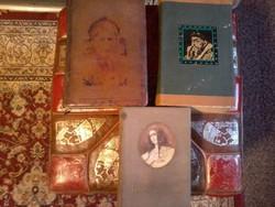 Antik könyv, 3 db Raszputyin, R Iván, L Borgia.
