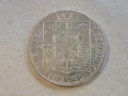 KK553 1934 Ezüst 20 Korona Csehszlovákia