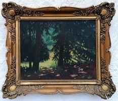 Nyári erdő.. 1910 körül !!!