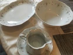 Bavaria porcelán kínáló garnitúra egyben eladó.