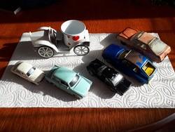 6 db Régi autó