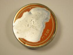 Retro CAOLA krém fémdoboz alu doboz - KHV - Kozmetikai és Háztartásvegyipari Vállalat - 1970-es évek