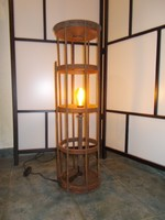 Industrial, loft, vintage egyedi állólámpa, lámpa