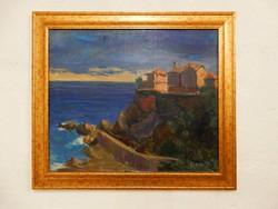 Radnai József: Házak a vízparton