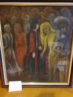 Dante and vergilius in hell
