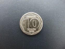 10 dinár 1993 Jugoszlávia