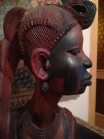 Afrikai törzsi szobor