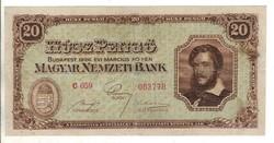 20 pengő 1926 Nagyon ritka
