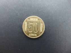 50 dinár 1988 Jugoszlávia