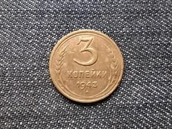 Szovjetunió (1922-1991) 3 Kopek 1943 / id 15965/