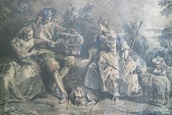 After Nicolas Lancret (1690-1743) Engraved by Nicolas de Larmessin metszet