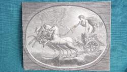Raffaello Sanzio Urbino (1483-1520) Apollo metszet