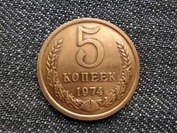 Szovjetunió (1922-1991) 5 Kopek 1974 / id 15940/