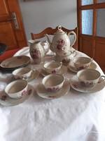 Cseh   antik    teás  készlet   4  süteményes    el    18000   ft