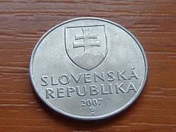 SZLOVÁKIA 2 KORONA 2007
