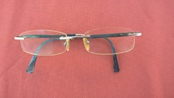 Érdekes régi jelzett szemüveg