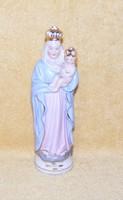Mária és kis Jézus porcelán szobor