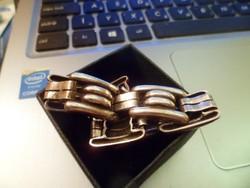 Art deco ezüst karkötő