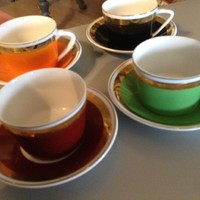Kávés készlet 4 darabos