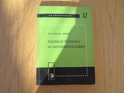 Digitális technika az automatizálásban - Wolfgang Weber - 1969