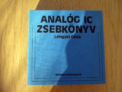 Analóg IC-zsebkönyv - Lengyel Géza