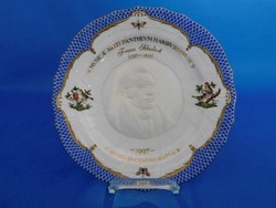 Herendi RO-EB Franz  Schubert  Rothschild  23.5cm fali tál
