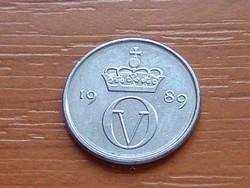 NORVÉGIA 10 ŐRE 1989