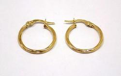 Arany karika fülbevaló (ZAL-Au85131)