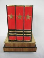 Retro orosz  könyv alakú zenélő cigaretta tartó kínáló