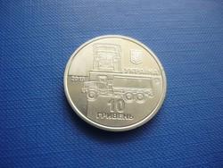 UKRAJNA 10 HRIVNYA 2019