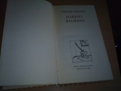 Kertész Erzsébet:Harriet regénye