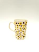 Gránit Kispest ritka virágos bögre - kávés teás csésze