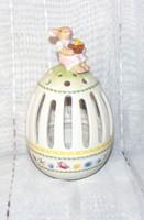 Villeroy & Boch porcelán mécsestartó, húsvéti dísztárgy